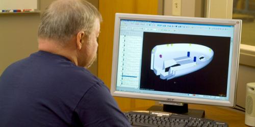 Engineers Developing 3D CAD Models Image